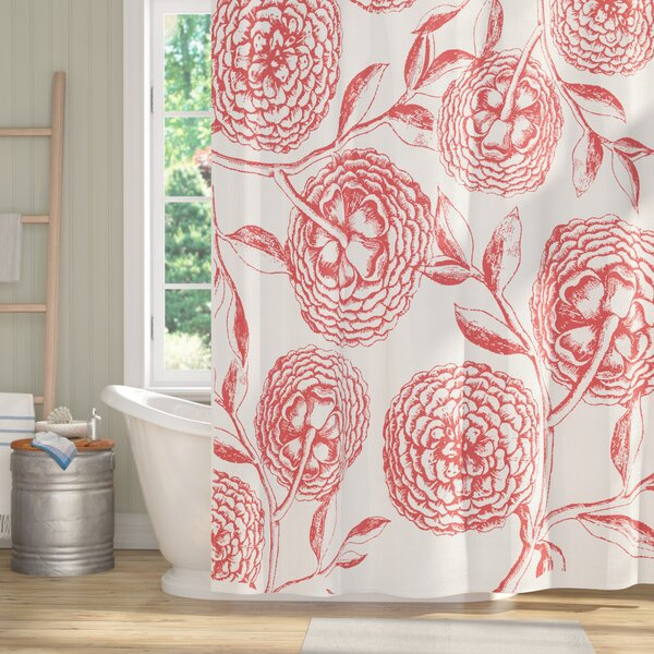 Chickamauga Antique Flowers Print Shower Curtain by Laurel Foundry Modern Farmhouse