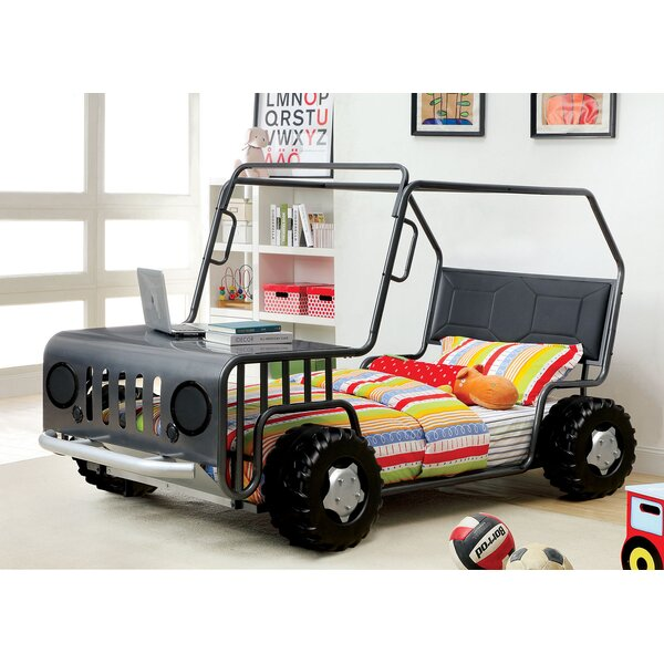 Hoboken Twin Car Bed by Zoomie Kids
