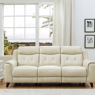 Marylyn Leather Reclining Sofa