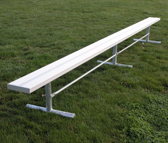 Aluminum Picnic Bench by Ultra Play