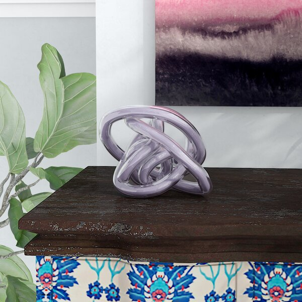 Edgington Glass Knot by Ebern Designs