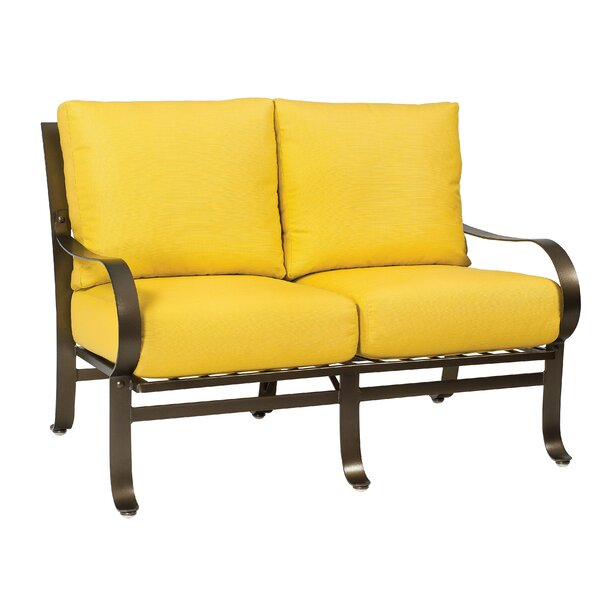 Cascade Loveseat with Cushions by Woodard