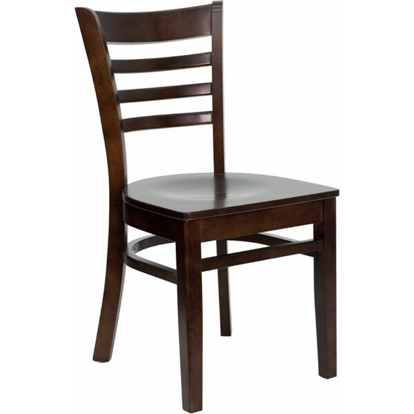 Duprey Solid Wood Dining Chair with Ladder Back by Charlton Home