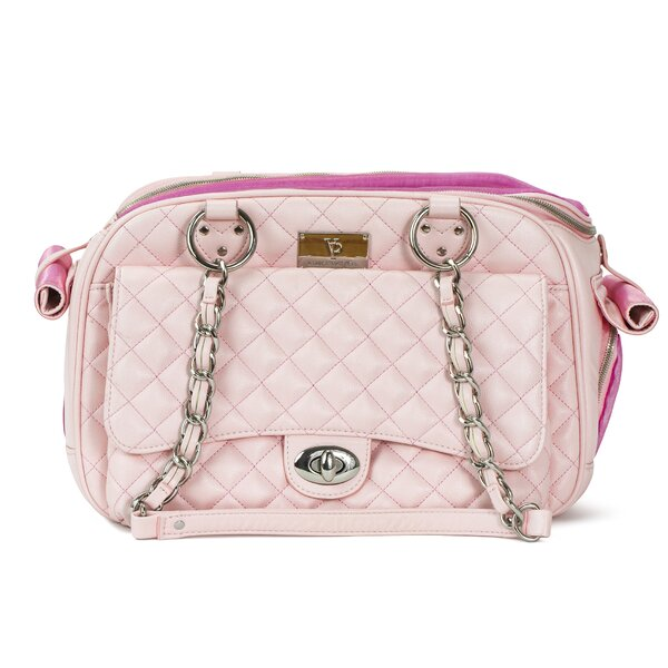 Classic Quilted Luxury Pet Carrier by Vanderpump P