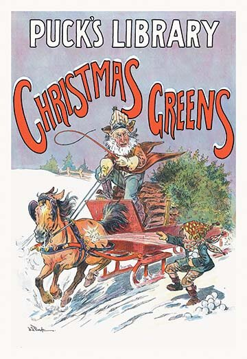 Christmas Mischief by J.S. Pughe Vintage Advertise