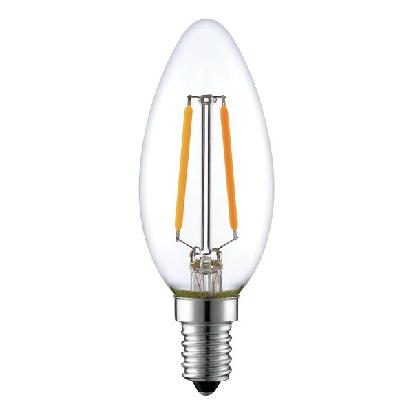 2W E26 LED Vintage Filament Light Bulb by Aspen Brands
