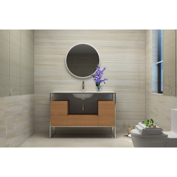 Wilford 48 Single Bathroom Vanity Set with Mirror by Brayden Studio