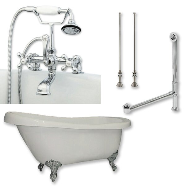 67 x 28 Clawfoot Bathtub by Cambridge Plumbing