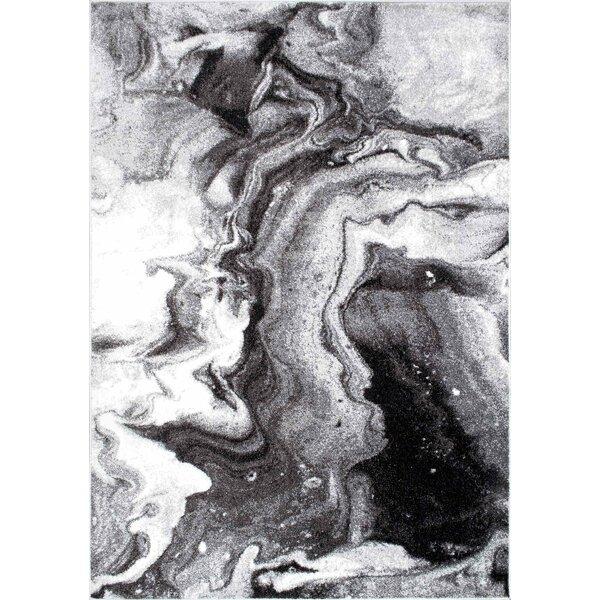 Apple Creek Gray Area Rug by Wrought Studio