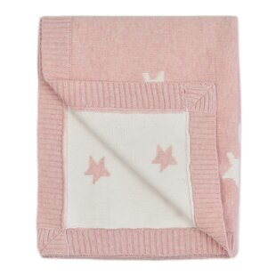 Shopping for Dillman Reversible Knitted Star Baby Blanket ByHarriet Bee