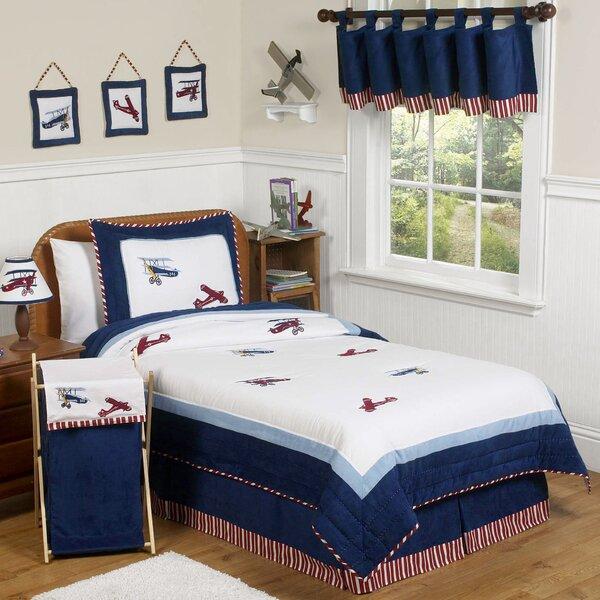 Vintage Aviator 4 Piece Twin Comforter Set by Sweet Jojo Designs