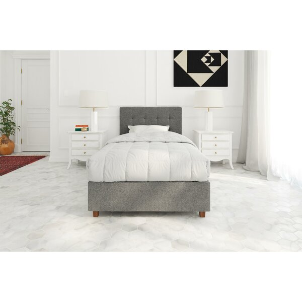 Aahil Upholstered Platform Bed by Grovelane Teen