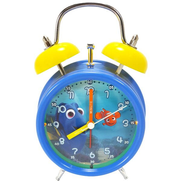 Finding Dory Light Up Alarm Table Clock by Ashton Sutton