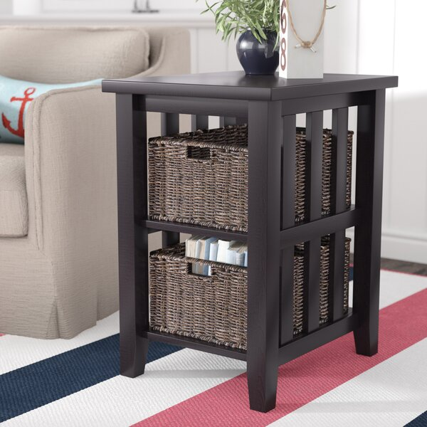 Westlock End Table by Beachcrest Home