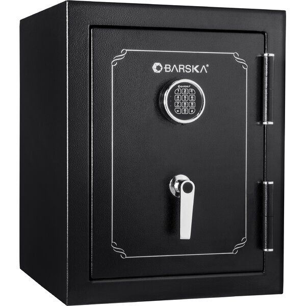 2.6 Cubic Foot Fire Security Safe with Electronic Lock by Barska
