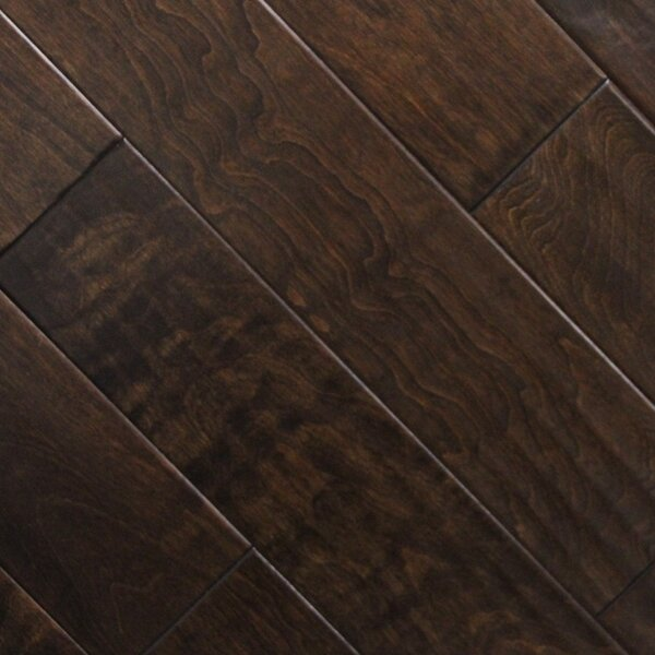 5 x 48 x 2.7mm Birch Laminate Flooring in Expresso (Set of 22) by Serradon