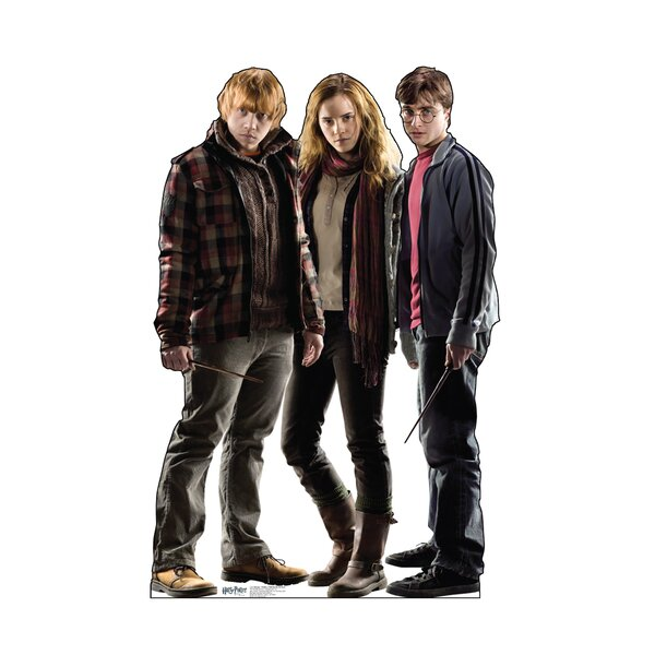 Harry Potter Ron, Hermione, Harry Cardboard Stand-Up by Advanced Graphics