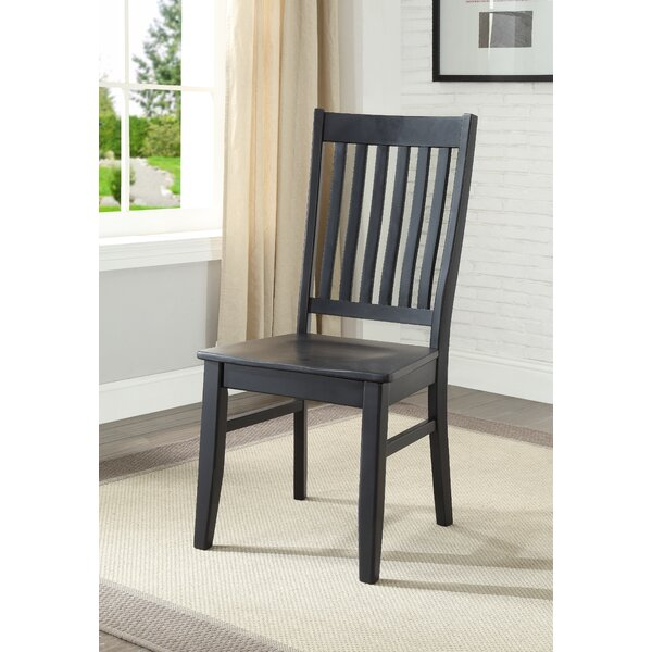 Idora Solid Wood Dining Chair By One Allium Way