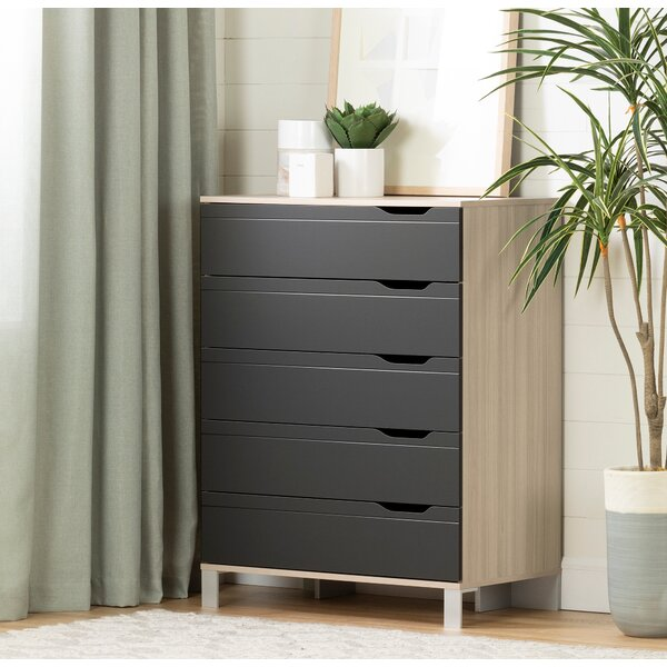 Kanagane 5 Drawer Chest by South Shore