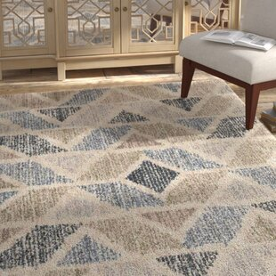Inexpensive Miamisburg Muted Beige/Brown/Black Area Rug ByBungalow Rose