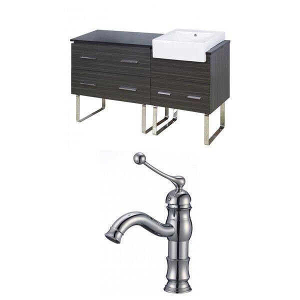 Hindman 61 Single Bathroom Vanity Set by Royal Purple Bath Kitchen
