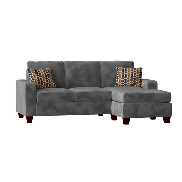 Morpheus Right Hand Facing Sectional with Ottoman by Mercury Row