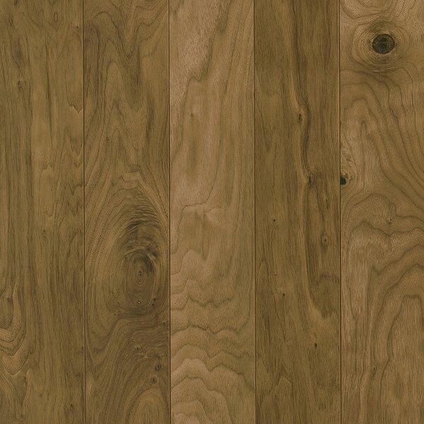 Perf Plus 5 Engineered Walnut Hardwood Flooring in Natural by Armstrong Flooring