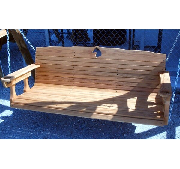 Sudduth Porch Swing by Millwood Pines