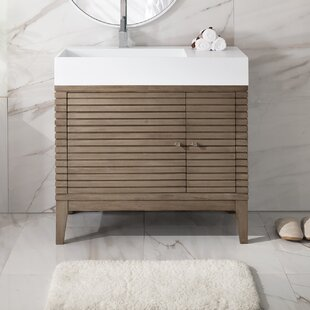 Read Reviews Mosley 36 Single Bathroom Vanity Set ByIvy Bronx