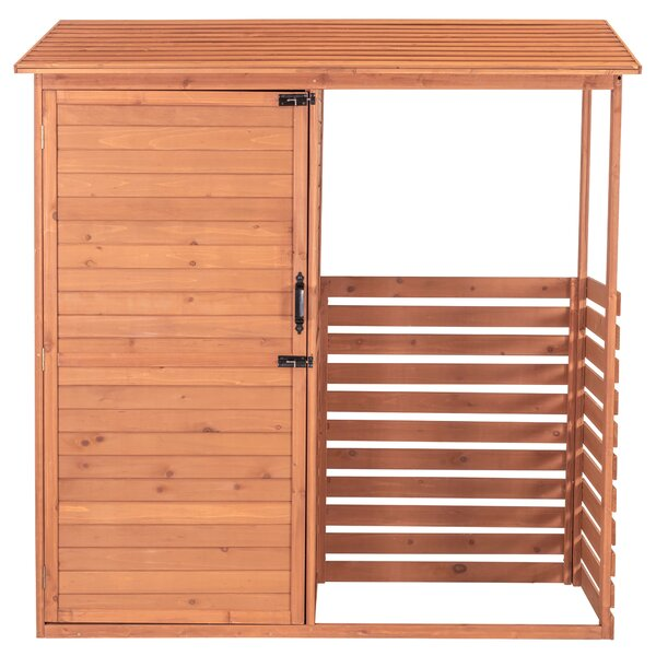 Combination 6 Ft. X 2 Ft. Wood Log Store By Leisure Season