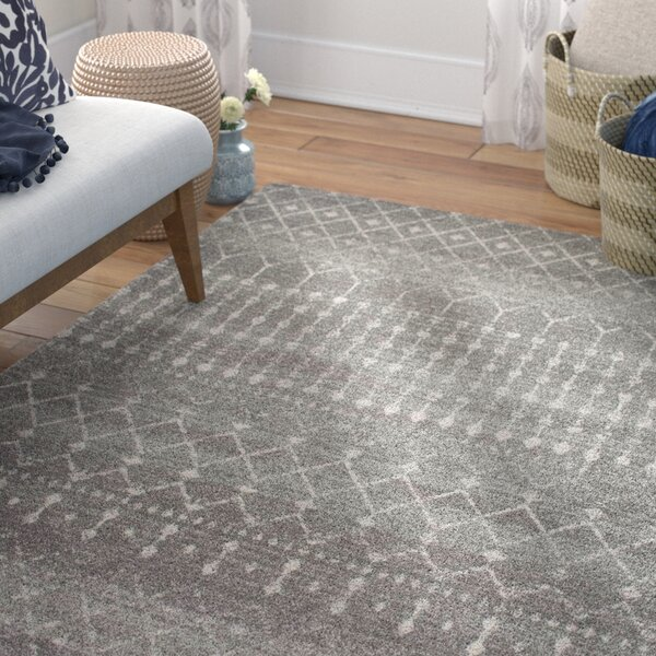 Clair Dark Gray Area Rug by Mistana