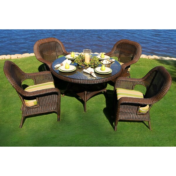 Fleischmann 5 Piece Dining Set by Darby Home Co