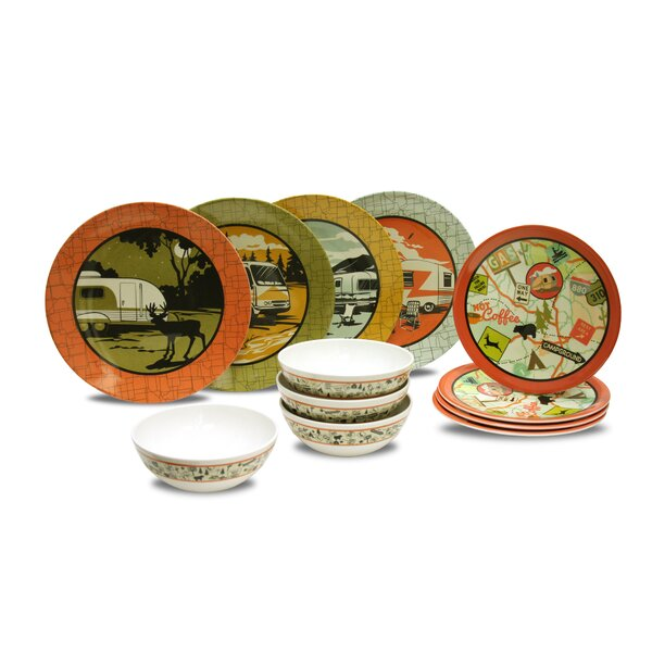 Cranmore 12 Piece Dinnerware Sets, Service for 4 by Winston Porter