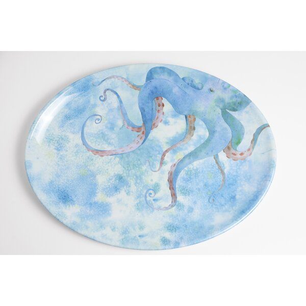 Yacht and Home Octopus Melamine Platter by Galleyware Company
