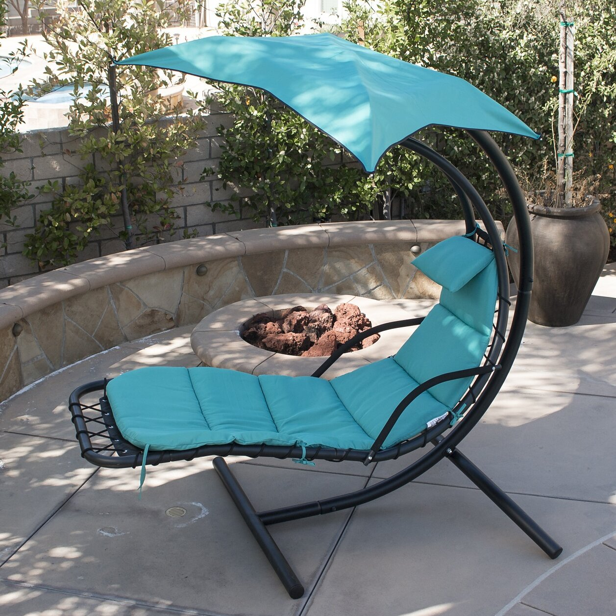 Polyester Hanging Chaise Lounger