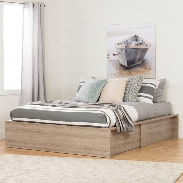 Fusion Queen Storage Platform Bed by South Shore