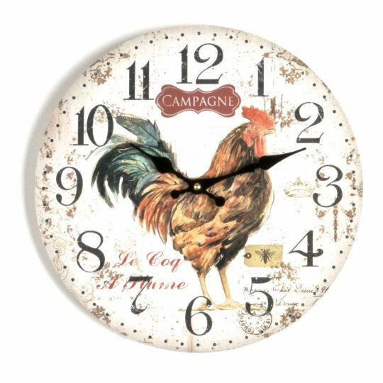 Coughlan Rooster 13.5 Wall Clock by August Grove