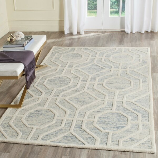 Medina Hand-Tufted Area Rug by Wrought Studio