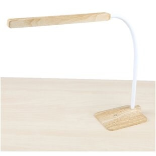 Bargain Bamboo Dimmable Touch Power Stand Alone Flexible 27 Desk Lamp By Mind Reader
