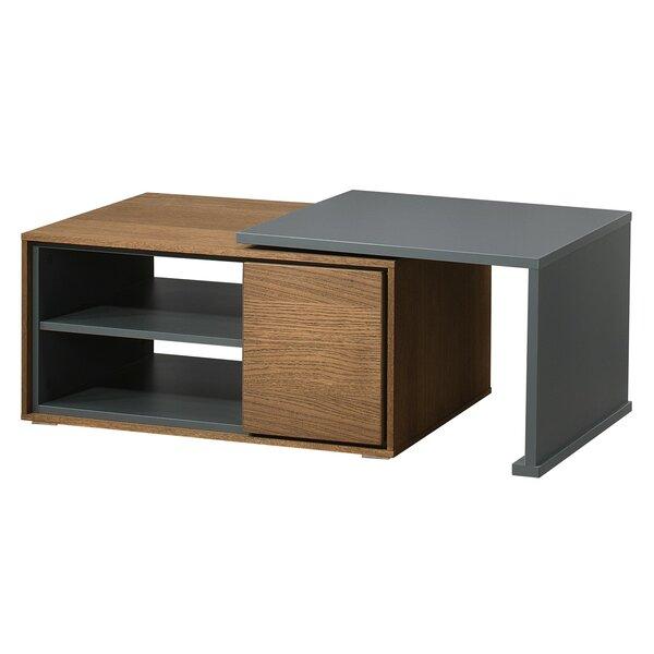 Brunelle Coffee Table with Storage by Brayden Studio