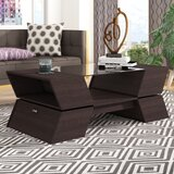Wallington Abstract Coffee Table with Storage by Wade Logan®