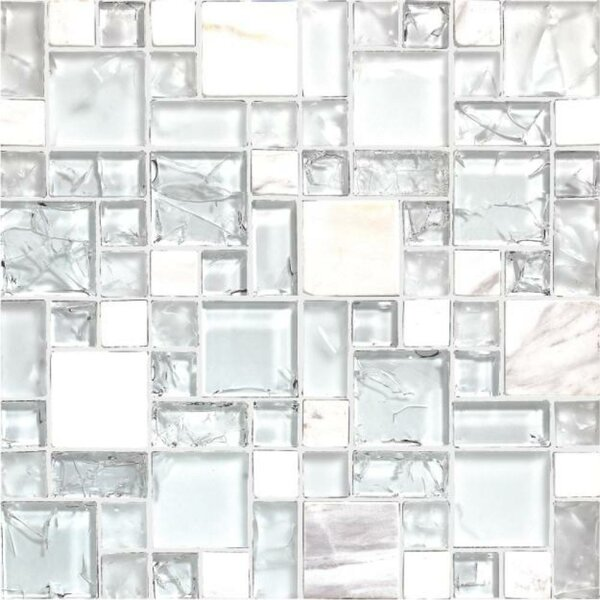 Pure 12 x 12 Natural Stone Mosaic Tile