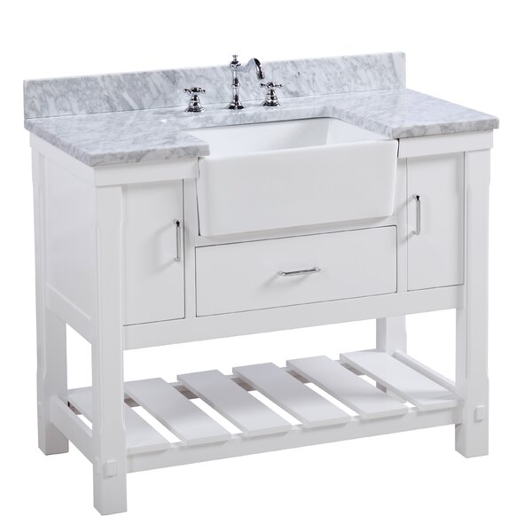 Charlotte 42 Single Bathroom Vanity by Kitchen Bath Collection