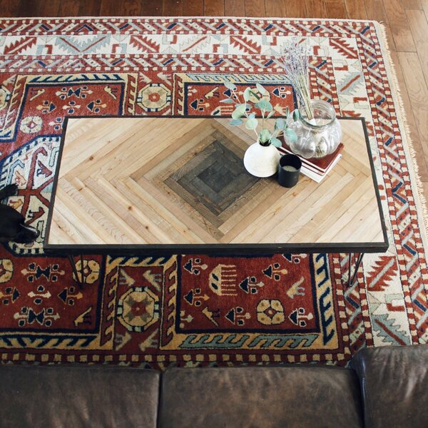 Myles Coffee Table by Union Rustic