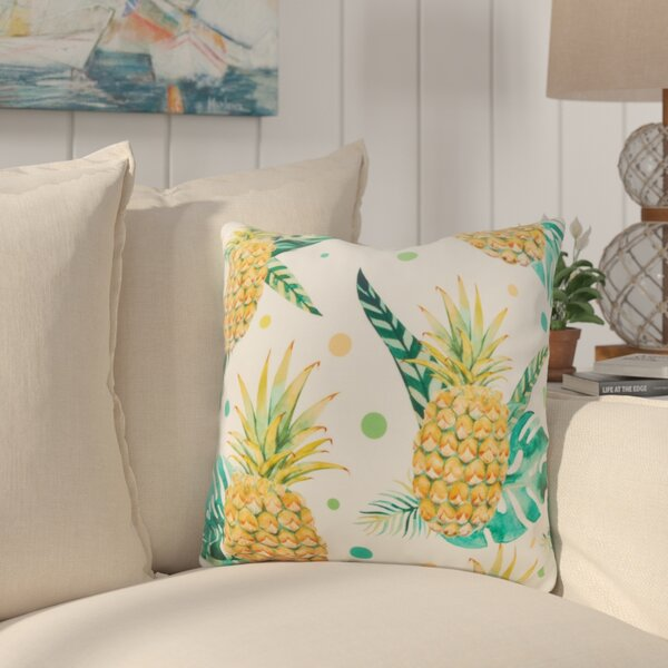 Sherwick Pineapple Throw Pillow by Bay Isle Home