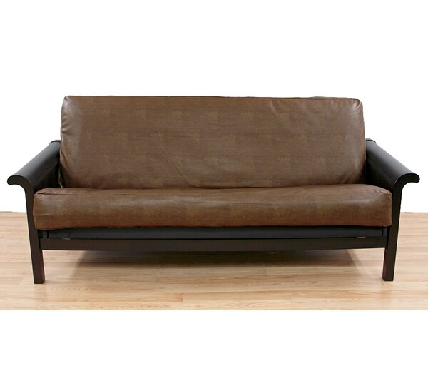 Dunbar Box Cushion Futon Slipcover by Easy Fit