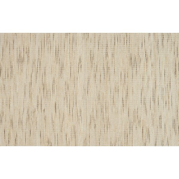 Glover Hand-Woven Beige Area Rug by Bungalow Rose