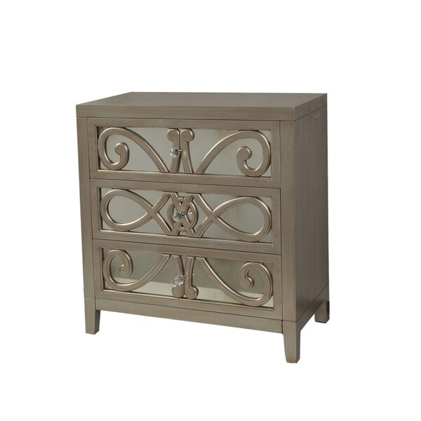 Catrina 3 Drawer Accent Chest