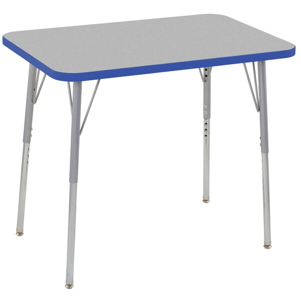 Contour Thermo-Fused Adjustable 24 x 36 Rectangular Activity Table by ECR4kids