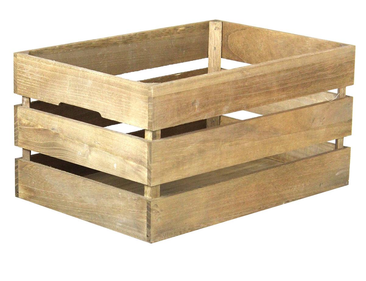 Wood Crate Shelf | Wayfair